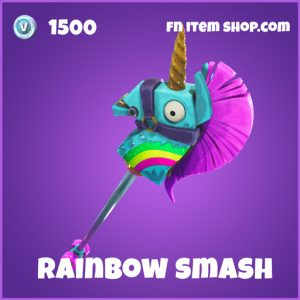 Rainbow smash 1500 pickaxe epic fortnite