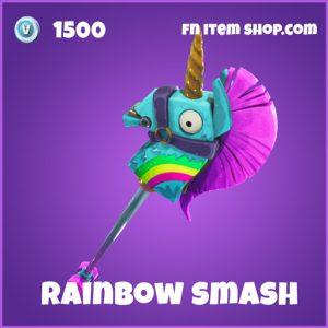 Rainbow smash 1500 pickaxe epic fortnite