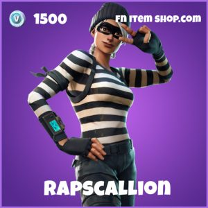 rapscallion 1500 epic skin fortnite