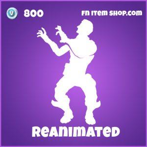 Reanimated 800 epic emote fortnite