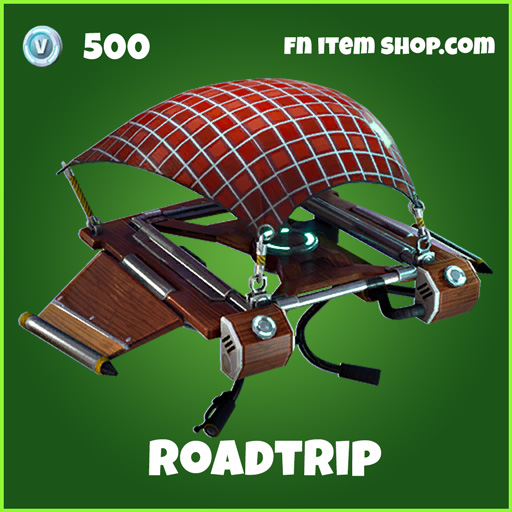 Roadtrip 500 uncommon glider fortnite