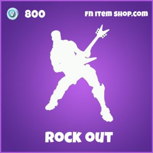 rock out 800 epic emote fortnite