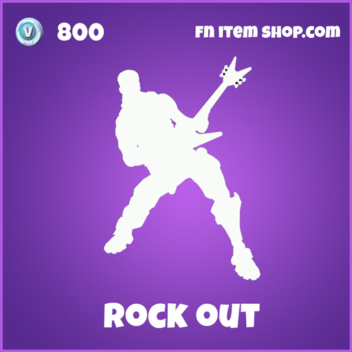 rock out 800 emote epic fortnite