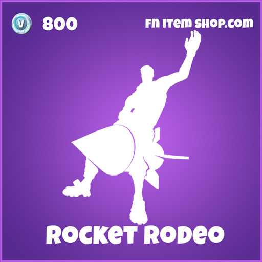 Rocket Rodeo 800 emote epic fortnite