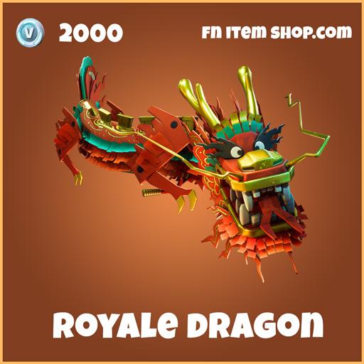 Royale Dragon Legendary 2000 glider fortnite