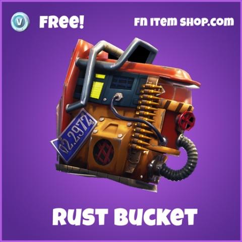 rust bucket free epic backpack fortnite