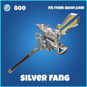 silver fang 800 rare pickaxe fortnite