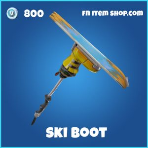 Ski Boot 800 rare pickaxe fortnite