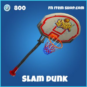 slam dunk 800 rare pickaxe fortnite