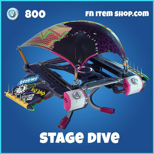 Stage Dive 800 Rare Glider fortnite