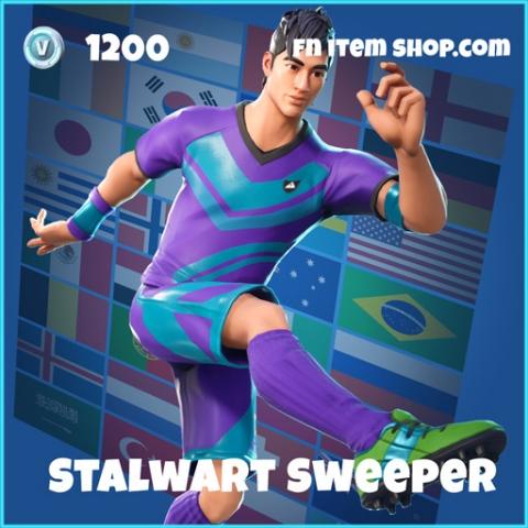 stalwart sweeper wk18 1200 rare skin fortnite