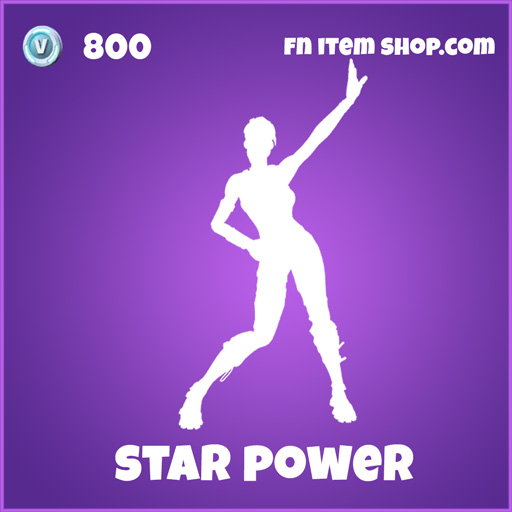 star power epic emote 800 fortnite