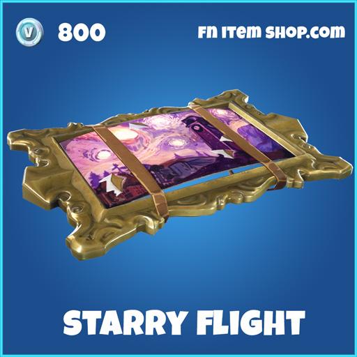 starry flight 800 rare glider fortnite