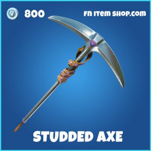 studded axe 800 rare pickaxe fortnite