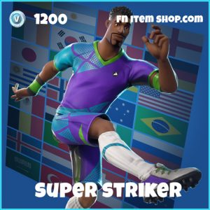 super striker wk18 1200 rare skin fortnite