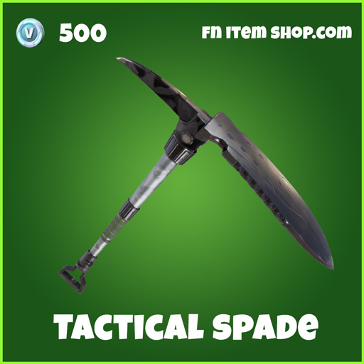 tactical spade 500 uncommon pickaxe fortnite