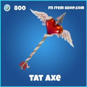 tat axe 800 pickaxe rare fortnite