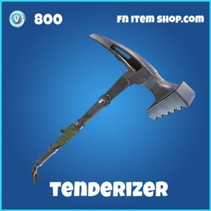 Tenderizer rare 800 pickaxe fortnite