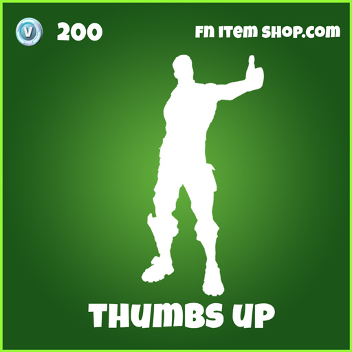thumbs up 200 uncommon emote fortnite