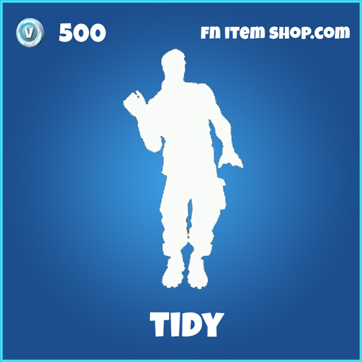 tidy 500 rare emote fortnite