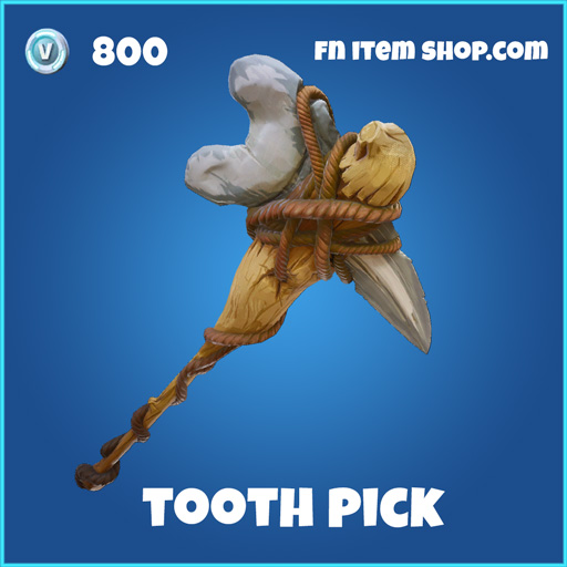 Tooth pick 800 rare pickaxe fortnite