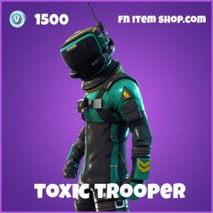 toxic trooper 1500 epic skin fortnite
