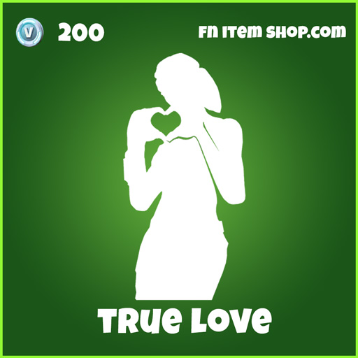 True Love 200 emote uncommon fortnite