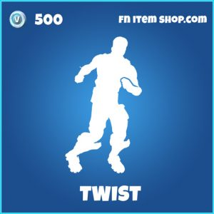 twist 500 rare emote fortnite