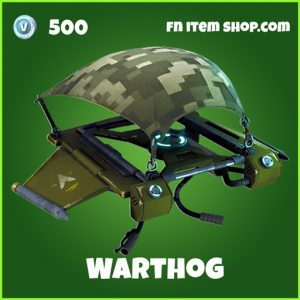 Warthog 500 uncommon glider fortnite