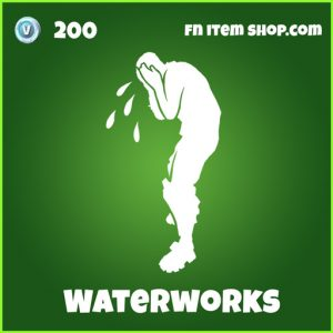 waterworks 200 uncommon emote fortnite