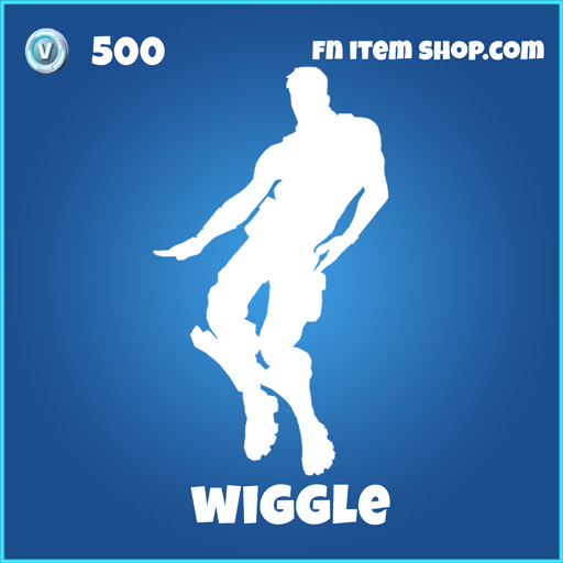 wiggle 500 rare emote fortnite