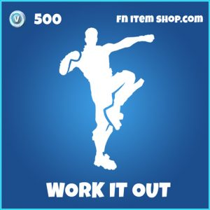 Work It Out rare fortnite emote