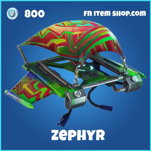 Zephyr 800 rare glider fortnite
