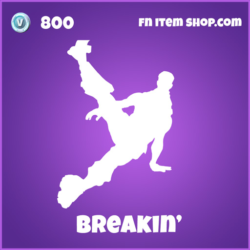 breakin' 800 epic emote fortnite