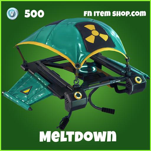meltdown 500 uncommon glider fortnite