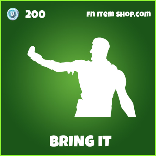 bring it 200 uncommon emote fortnite