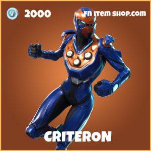 criterion 2000 legendary skin fortnite