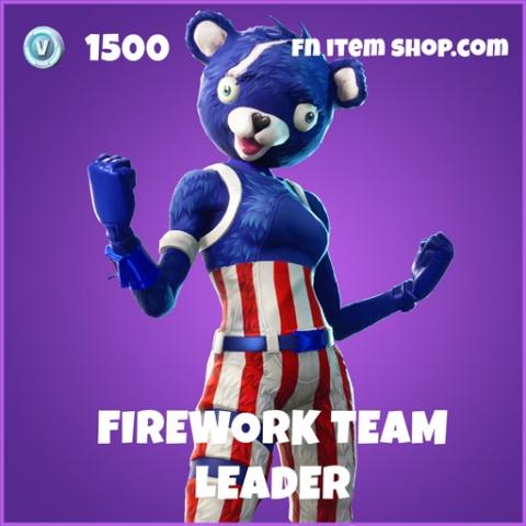 firework team leader 1500 epic skin fortnite