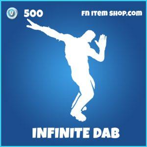 infinite dab 500 rare emote fortnite
