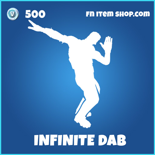 infinite dab 500 rare emote fortnite