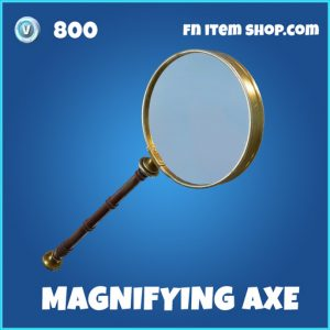 magnifying axe 800 rare pickaxe fortnite