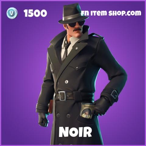 noir 1500 epic skin fortnite