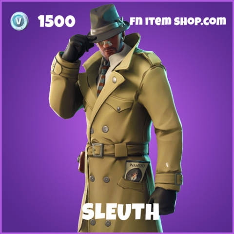 sleuth 1500 epic skin fortnite