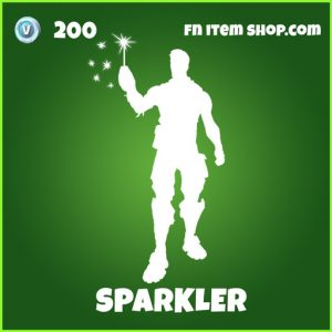 sparkler 200 uncommon emote fortnite