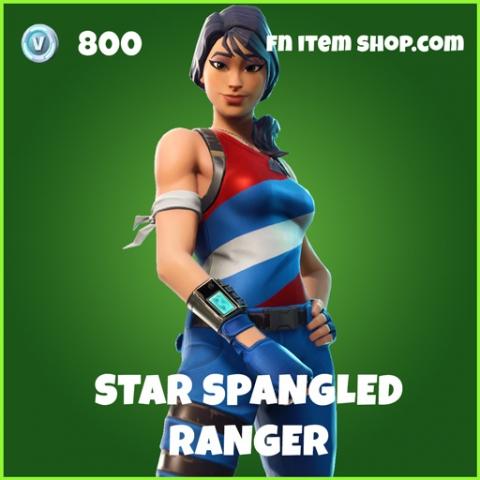 star spangled ranger 800 uncommon skin fortnite