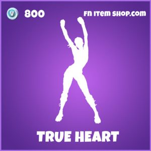 true heart 800 epic emote fortnite