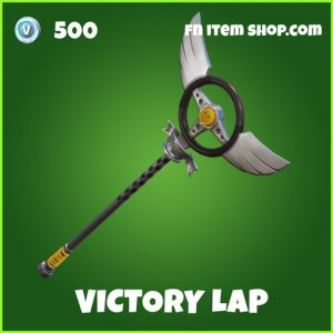 victory lap 500 uncommon pickaxe fortnite