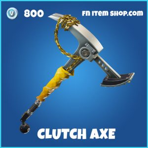 Clutch Axe rare fortnite pickaxe
