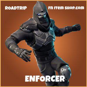 Enforcer legendary roadtrip skin fortnite