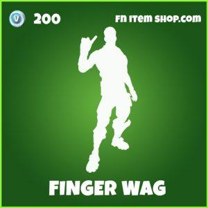 Finger Wag uncommon emote fortnite